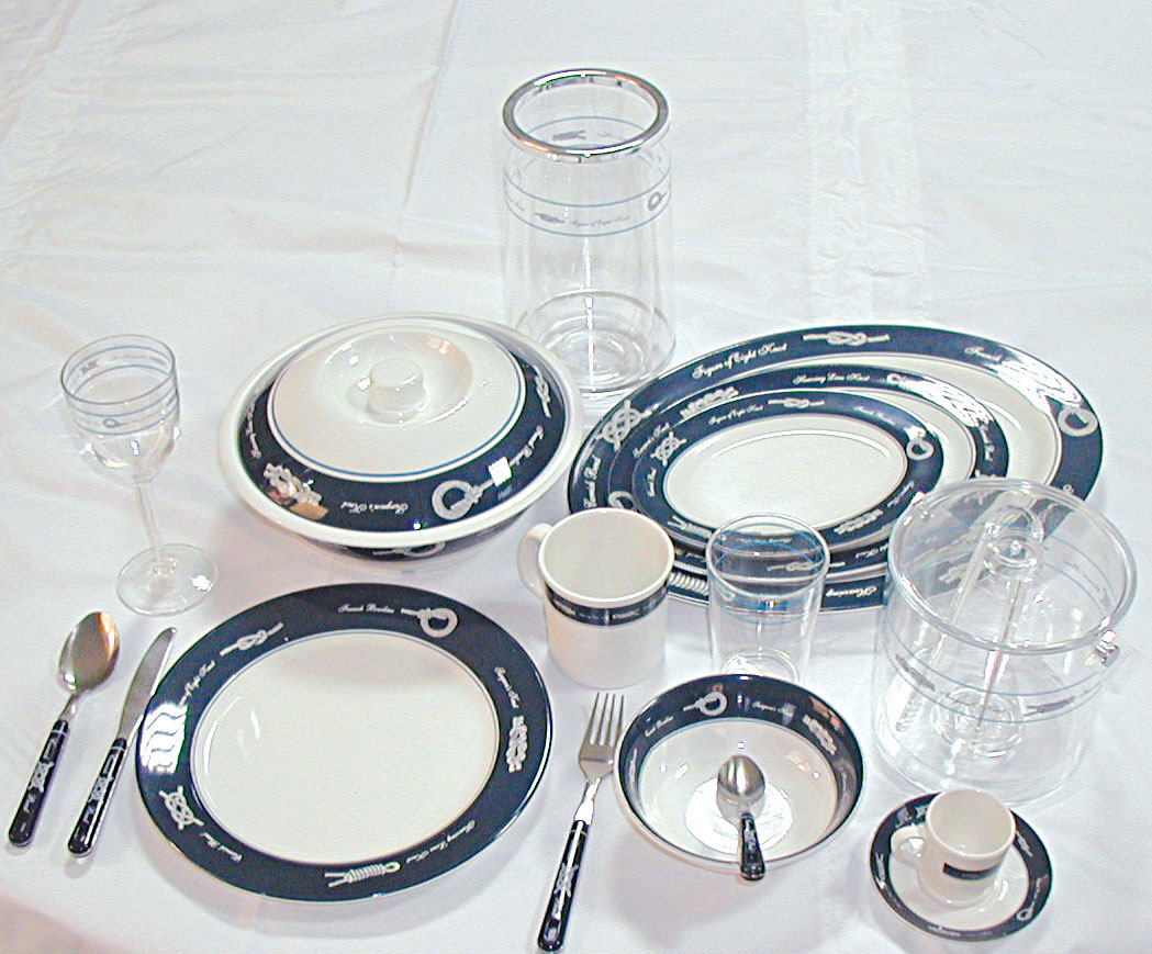 Sea Tableware range - ''Exclusive''