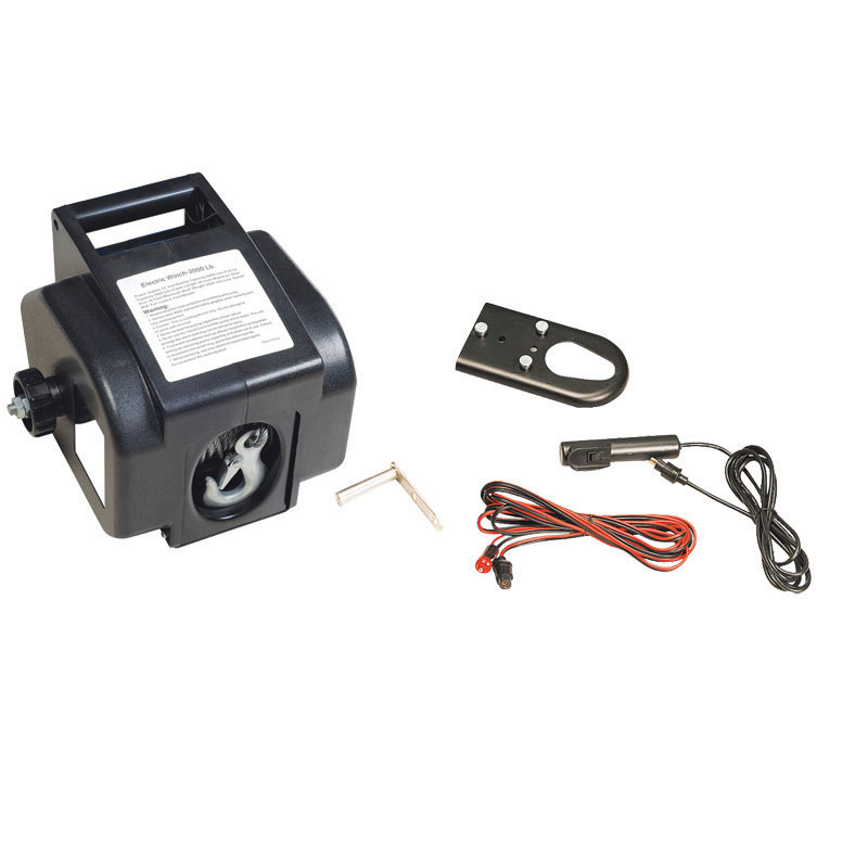 Electric Winch, AnchorWinch, 12V, 2000lb/1000kg