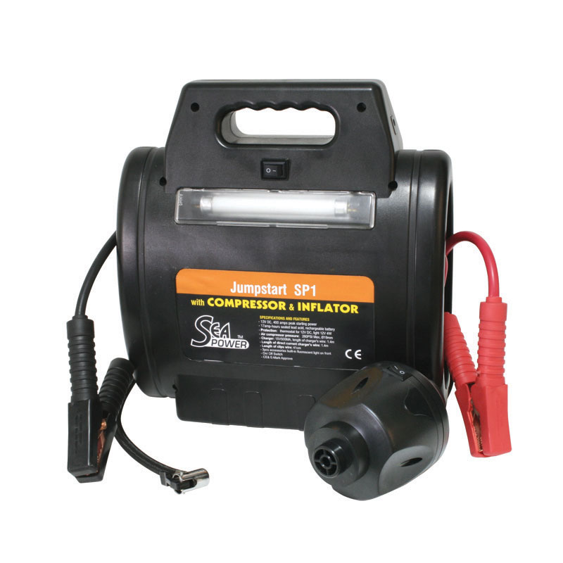 Jump Start SP1 ''Sea Power'' with Compressor with inflator, DC 12V