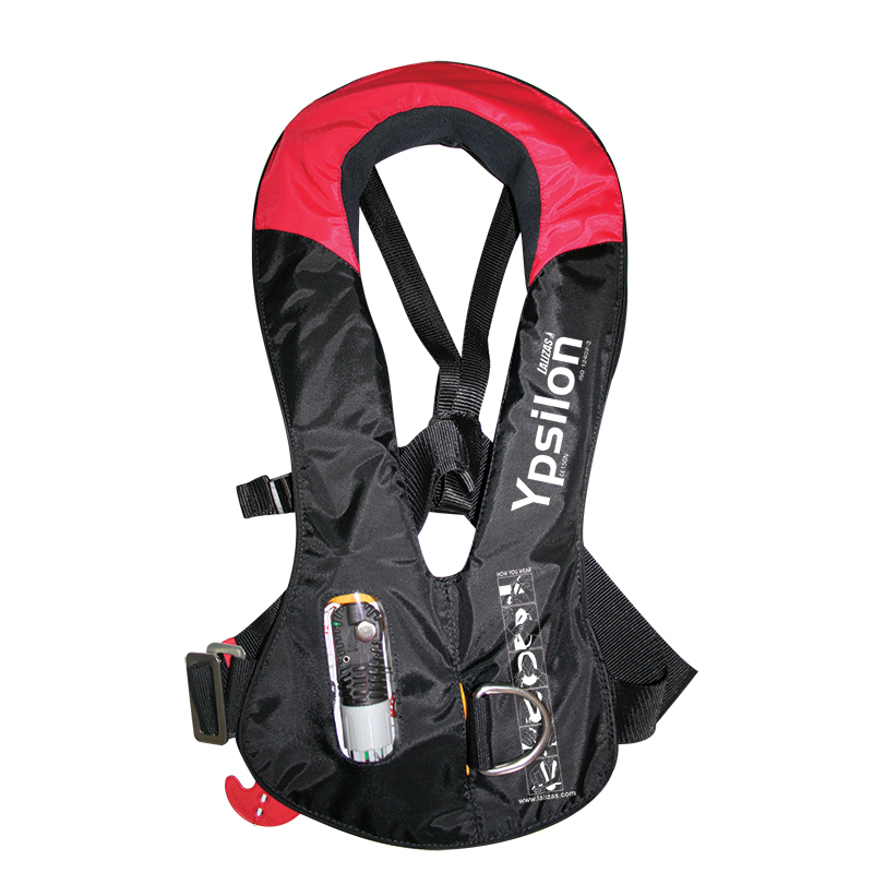 Inflatable Lifejacket Ypsilon 165N,  ISO 12402-3, auto LALIZAS JS1