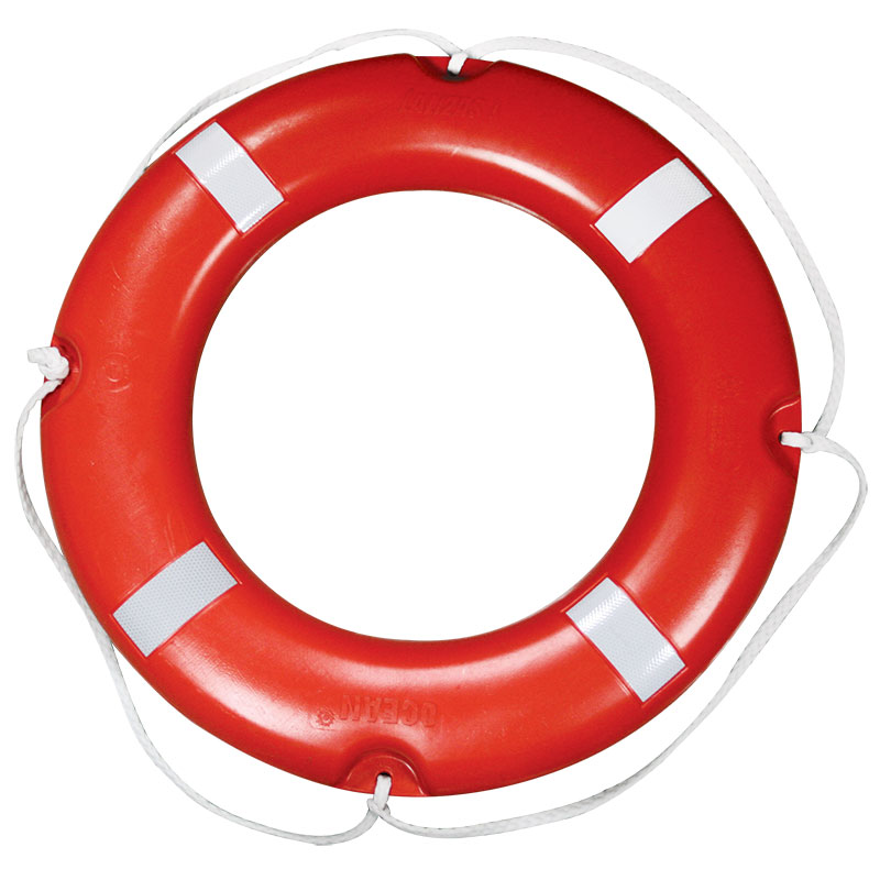 LALIZAS Lifebuoy Ring SOLAS, with Reflective Tape